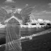 ANGEL AT LOS ANGELES RIVER PHOTO MONTAGE 2015