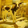 lLA BREA ANTIQUE STORE COW  COLOR INFRARED