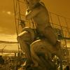 LA BREA ANTIQUE STORE CLASSIC SCULPTURE  COLOR INFRARED