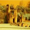 CASTLE RUINS APIAN WAY  H2FT X W3FT