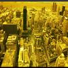 NYC PANORMIC VIEW OF THE CITY FROM EMPIRE STATE BUILDING  COLOR INFRARED